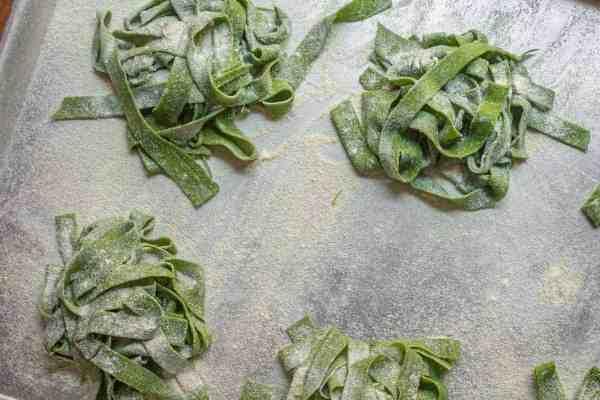 Ramp Leaf Pasta Recipe