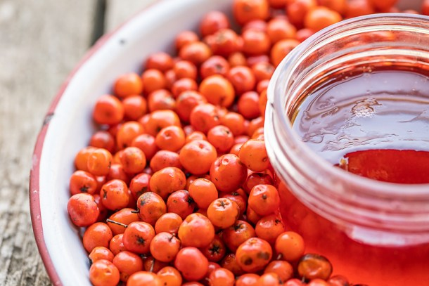 Classic rowanberry jelly recipe