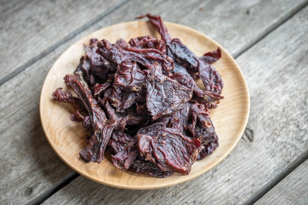 Smoked dried venison bapa or papa
