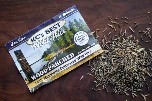 Kcs best wood parched wild rice