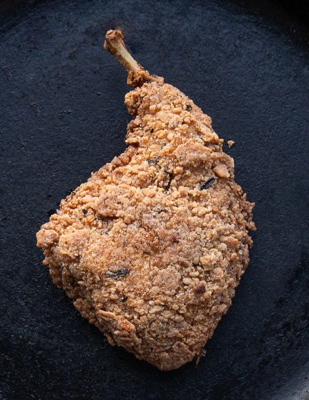 Buttermilk fried rabbit recipe
