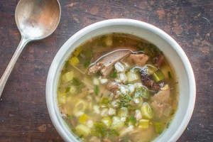 Sumerian pigeon soup