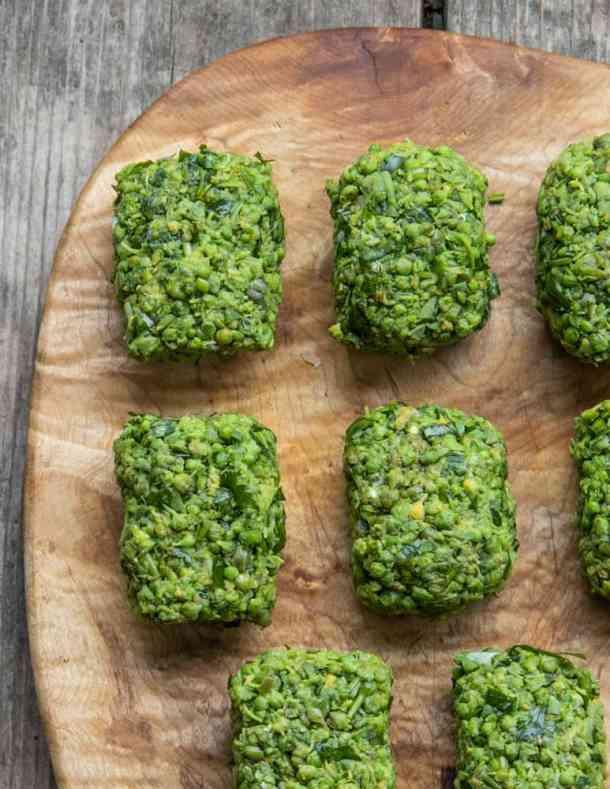 Milkweed bud huazontles, ready to cook