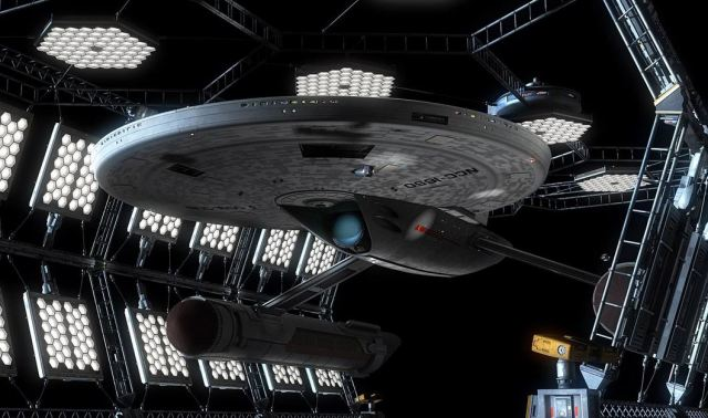 USS Ares, from the (upcoming?) Star Trek: Axanar.