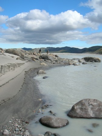 Upstream from Kangerlussuaq, western Greenland