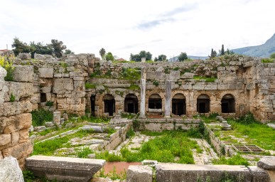 Corinth, Greece- Where the Apostle Paul lived and worked while helping the people of Greece.