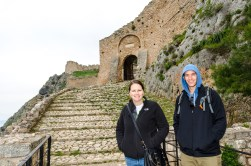 Castle in Corinth, Greece