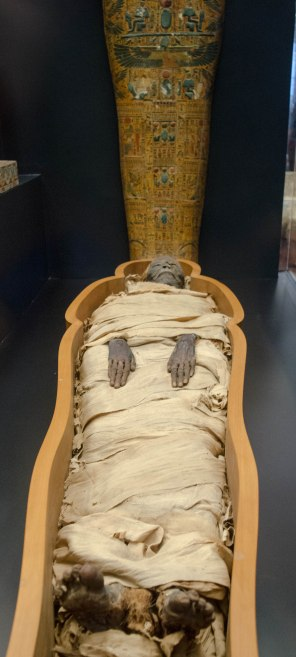 Mummy in Vatican Museum.