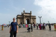 Gateway to India. India was previously under British rule and this monument was given to India by the British Queen and King in 1911 to commemorate their arrival.