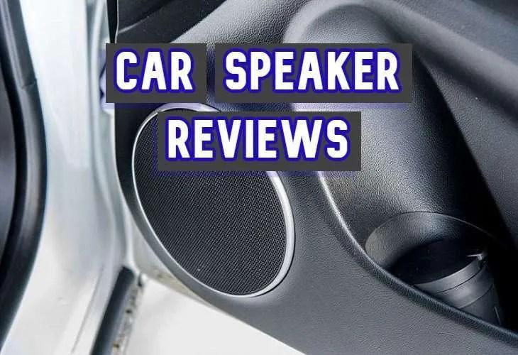 car speaker reviews
