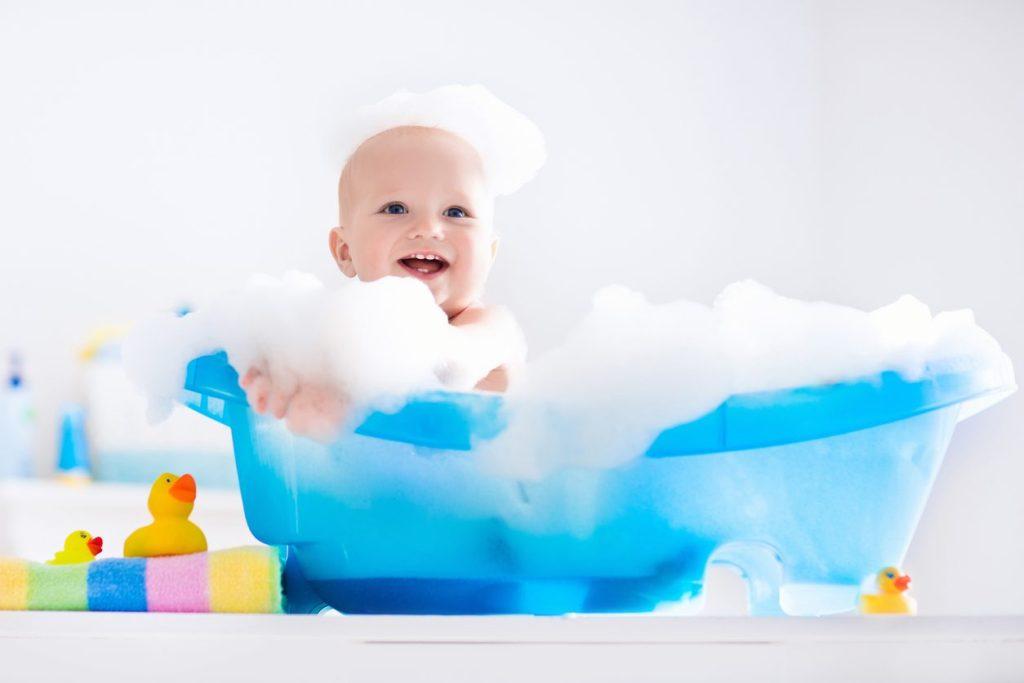 Nutrir a mente construir o cérebro: 10 Atividades para fazer na hora do banho