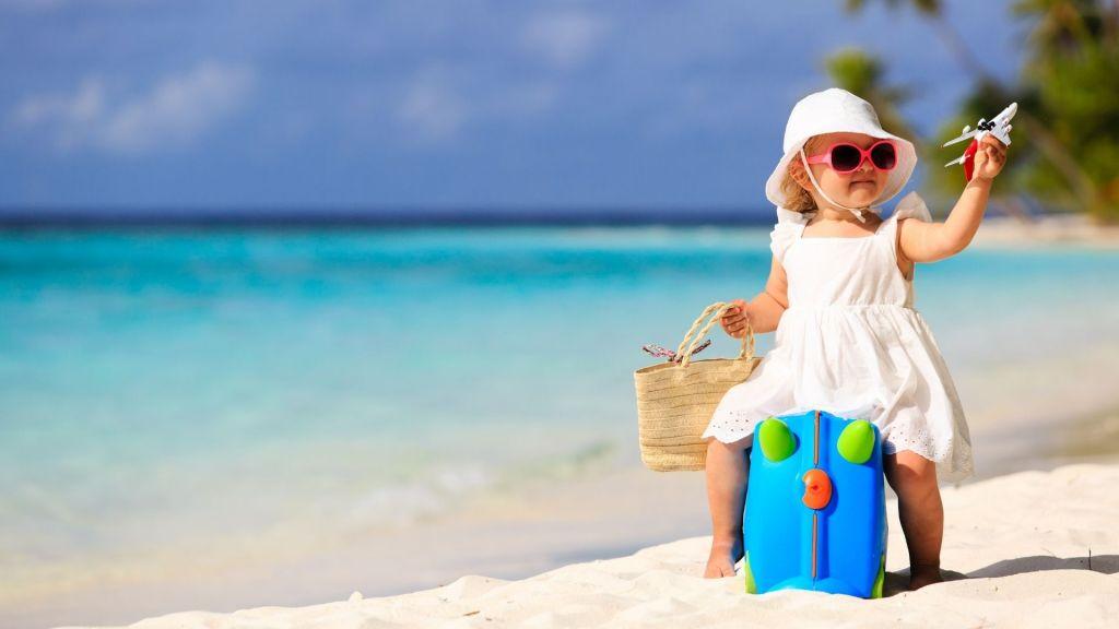 A viagem de férias… com o bebé