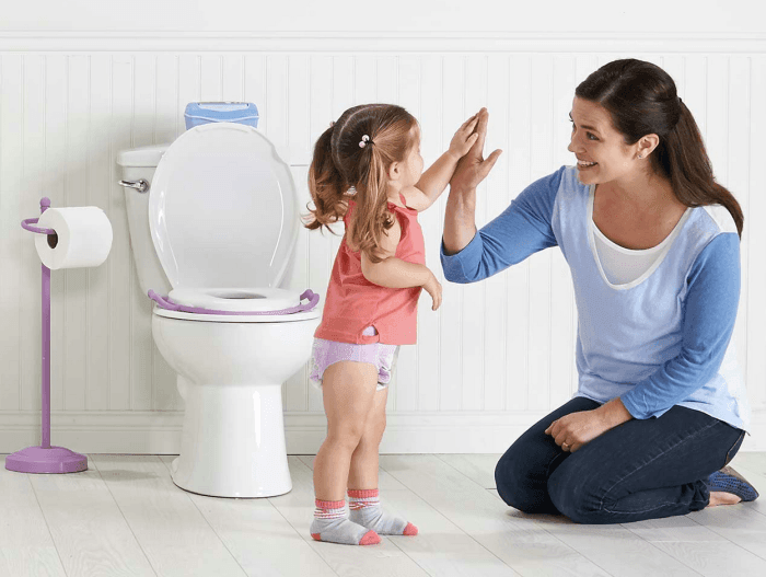 Potty training a toddler: how to make progress?