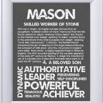 What is the origin of the name Mason?
