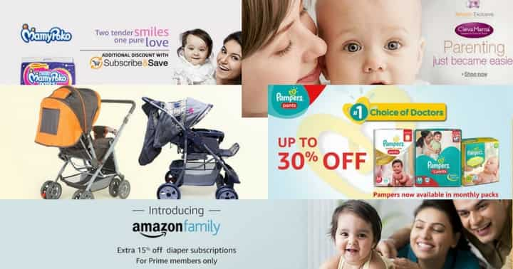 Amazon baby coupons: week 1 July