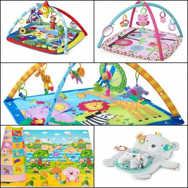 Top 5 Baby Playmats and Gyms on Amazon