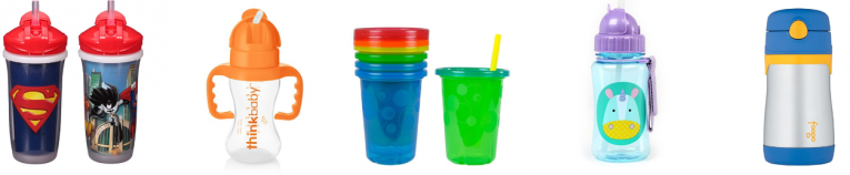 Top 5 Straw Cups for Baby on Amazon