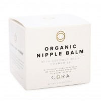 Cora organic, lanolin-free, baby-safe Nipple Cream / Nursing Balm soothes...