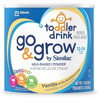 Go & Grow By Similac Milk Based Toddler Drink, Vanilla,...