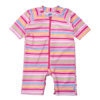 i Play. Baby Girls One-Piece Swim Sunsuit