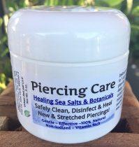 PIERCING CARE ! Healing Sea Salts & Botanical AFTERCARE :)...