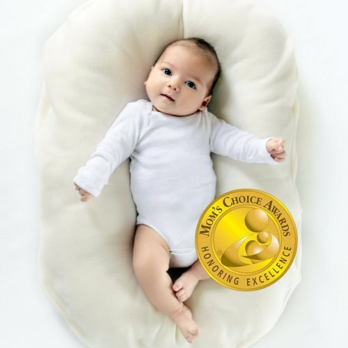 Snuggle Me Organic | Infant Lounging and Bed-Sharing Cushion