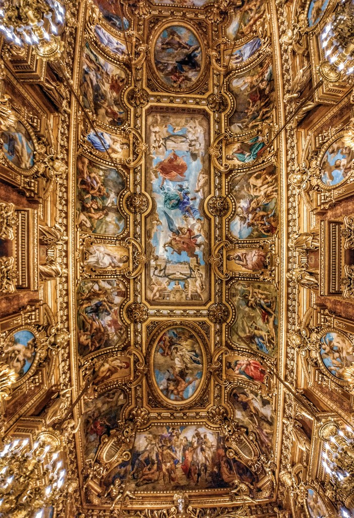 Grand Foyer,Opera Garnier, Paris