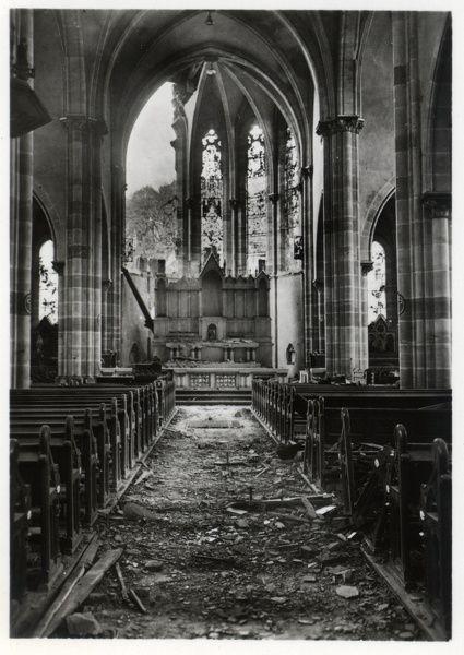 la guerre-église st. remy