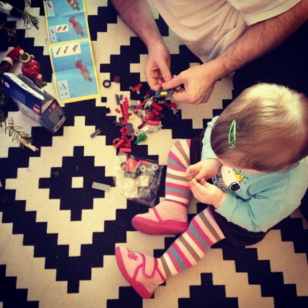 Christmas Lego Time with Charlotte