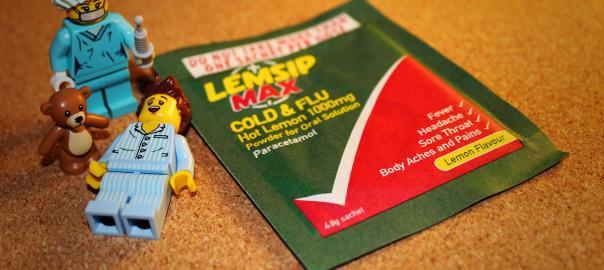 Lego Lemsip Nurse