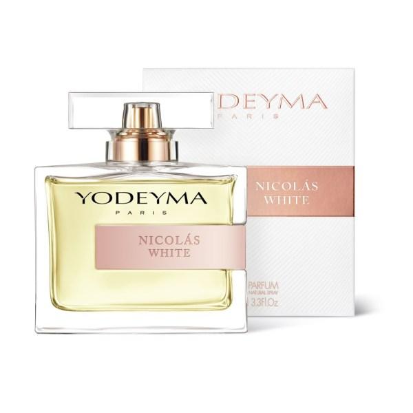 Yodeyma NICOLAS WHITE Eau de parfum 100 ml - floral lemnos