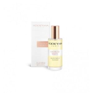 NICOLAS WHITE Apa de parfum 15 ml by YODEYMA - floral lemnos