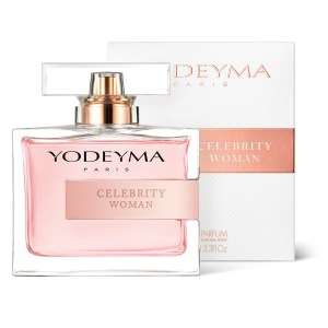 CELEBRITY WOMAN este un parfum floral-oriental ce învăluie cu note dulci de coacăze negre și patchouli.