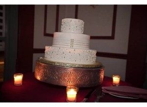 Our cake was delicious! The best part was that it was included in our venue package! I love Cake Boss but an included cake saved us a ton of money and it was tasty! In fact, I ate the whole topper myself that week...it never made it into the freezer for that one year anniversary!