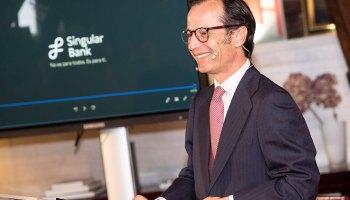 Javier Marín, CEO de Singular Bank