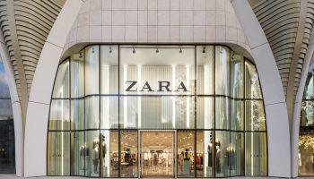 Imagen de una tienda de Zara en Bruselas.
