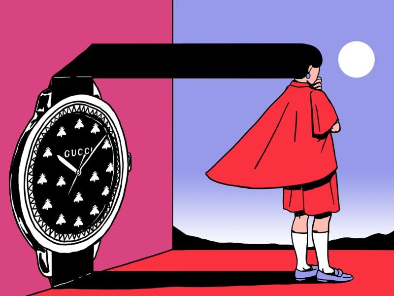 Gucci y G-Timeless, una colaboración de museo