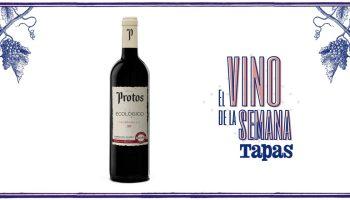 Protos Tempranillo Ecológico 2018, el vino de la semana para la revista TAPAS