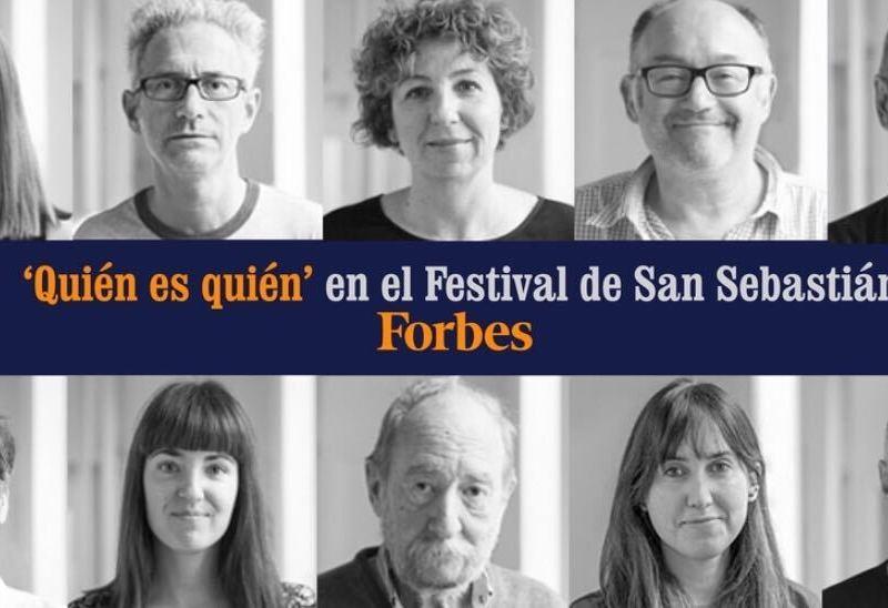 Quién es quién en el Festival de San Sebastián