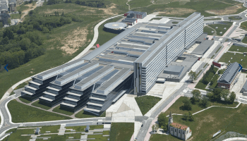 Hospital Universitario Central de Asturias (HUCA), Oviedo. Foto: Grupo SANJOSE