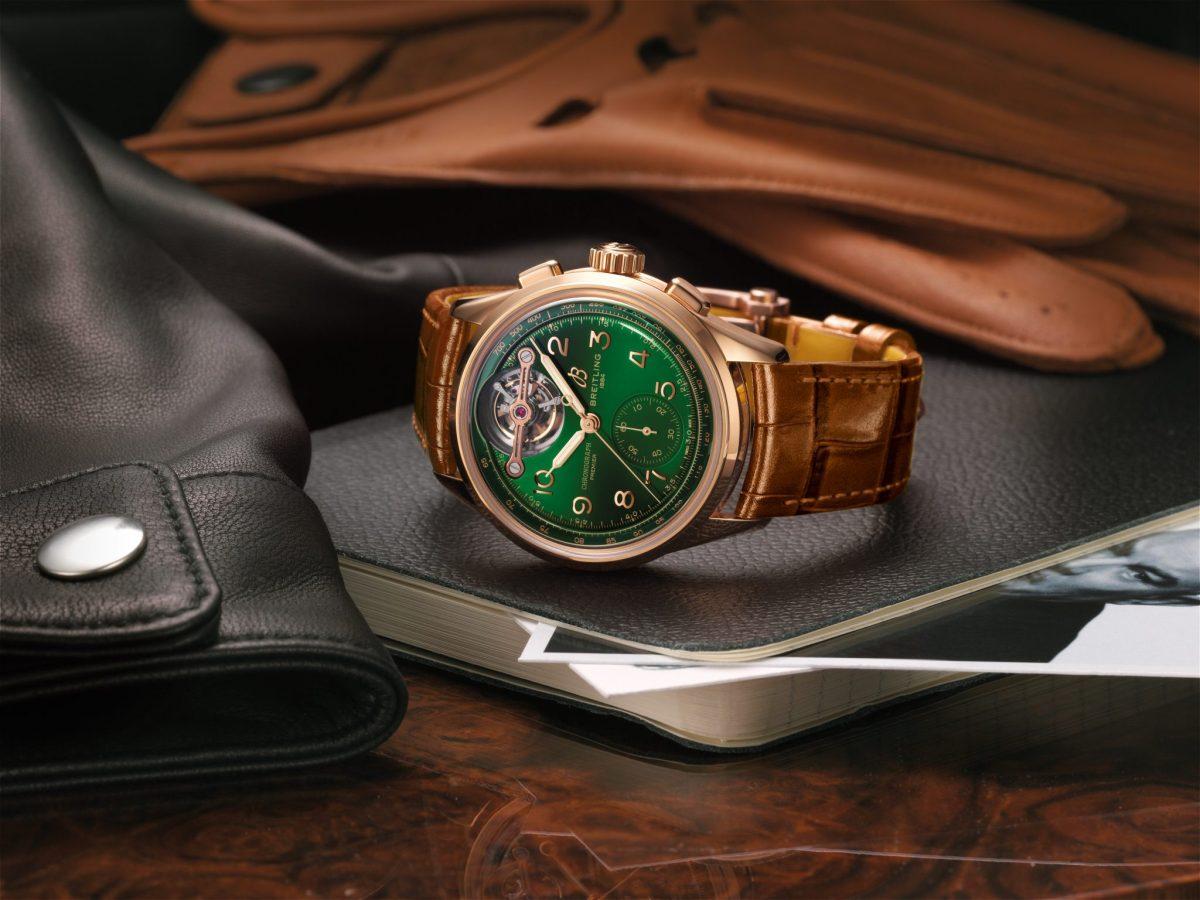 Premier B21 Chronograph Tourbillon 42 Bentley de Breitling