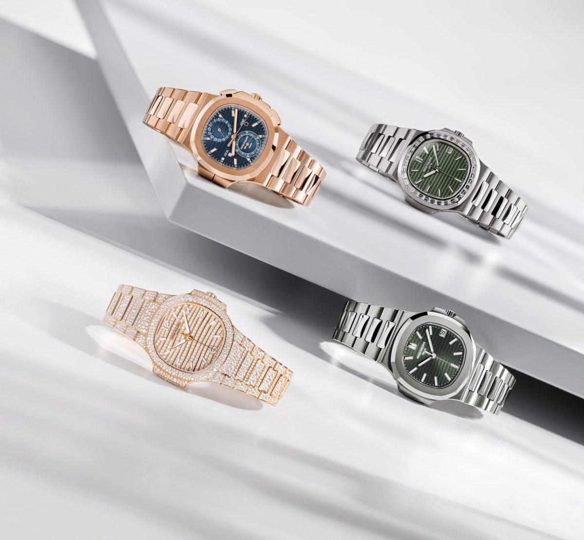 Patek Philippe sorprende en la Watches & Wonders de Ginebra 2021 con el lanzamiento de cuatro nuevos Nautilus.
