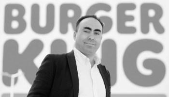 Jorge Carvalho, director general de Burger King en España y Portugal