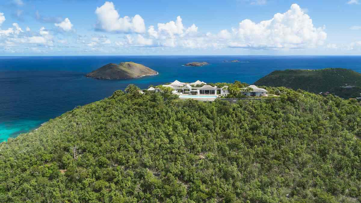 Villa Fleur de Mer. Foto: Sibarth Real Estate / St Barth Flycam