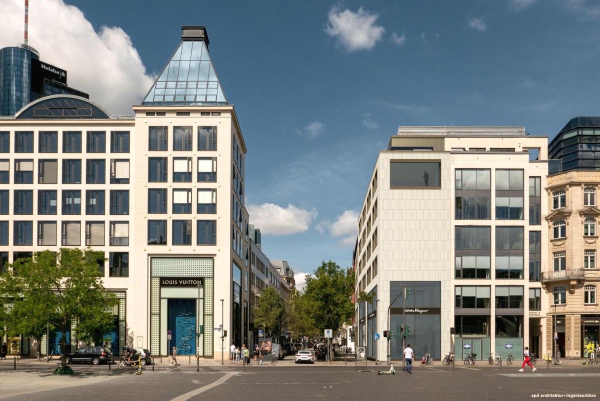 Edificio adquirido por la familia De Andrés Puyol en Frankfurt. Foto: EP