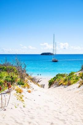 Playa Salines. Foto: St. Barth Tourisme