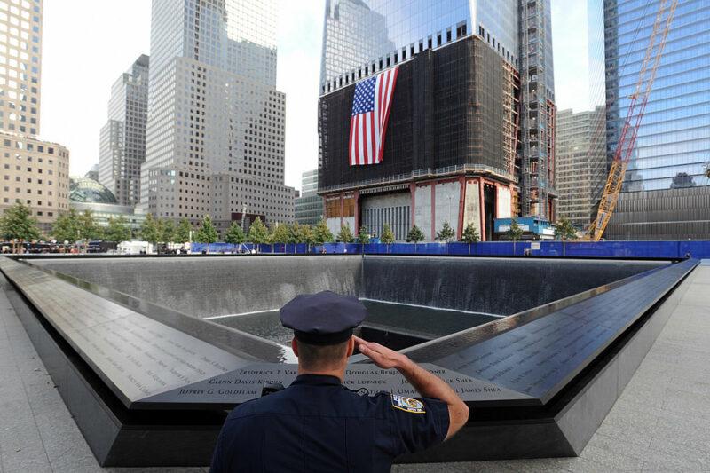 9/11 memorial World trade center