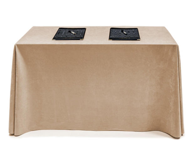 banquet chair trolley lounge covers amazon easy care made to order conference table cloths & drop - forbes group