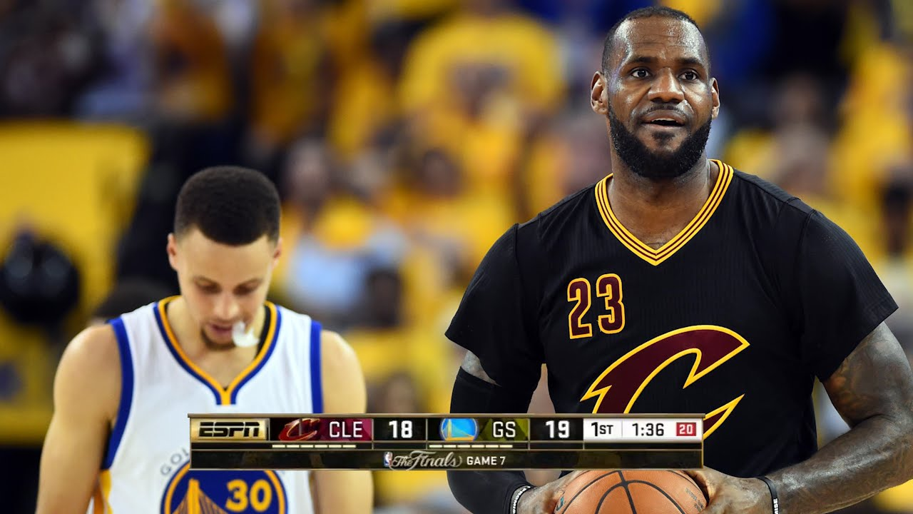 Cleveland Cavaliers Vs Golden State Warriors  Game 7