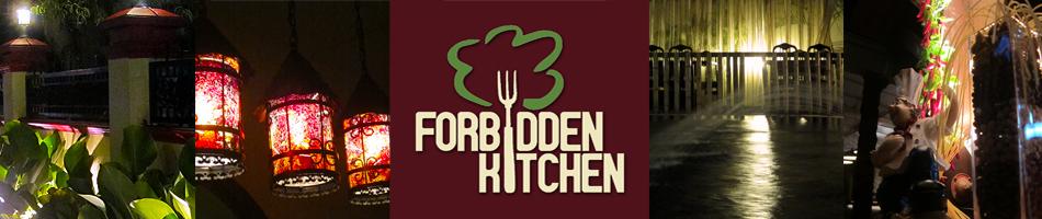 Ramadhan Buffet Menu  forbidden kitchen